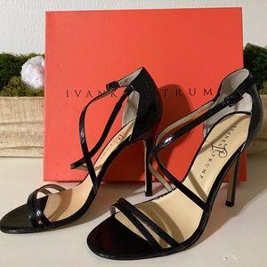 Ivanka Trump Duchess High Heel Sandals Snakeskin